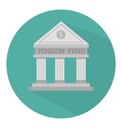 Money pension fund vector image