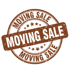 Moving sale vector