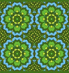 oriental beautiful ornament mandala seamless vector image