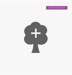 Tree icon simple vector