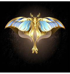 Mechanical Moth vector image