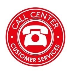 Call center customer service vector