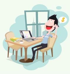 Freelance designer vector