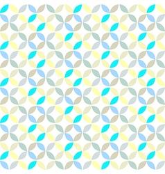 Geometric Circle Pattern Background vector