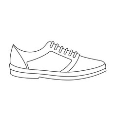 Rag camouflage sneakers for everyday wear vector