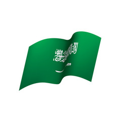 Saudi arabia flag vector