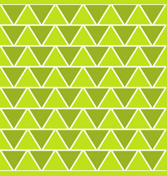 seamless geometric triangle pattern vector image