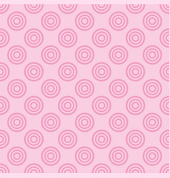 Seamless pattern with pink dots on a sweet pastel vector