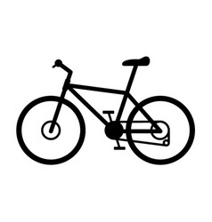 trail mountain road bike vector image