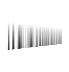 Vertical lines in columns perspective parallel vector