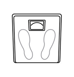 Weight scale measuring loss image line vector