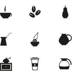 coffe icon vector image