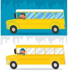 School Bus Driver vector image vector image