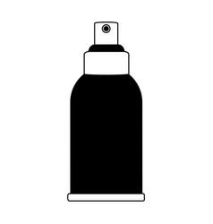 cosmetic bottle spray dispenser icon image vector image