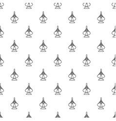 excavator bucket pattern seamless vector image