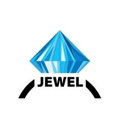 logo jewel vector image