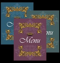 menu28 vector image