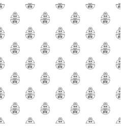 mole pattern seamless vector image