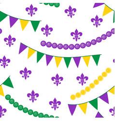 Seamless pattern for carnival festival vector