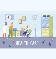 Senior people healthcare assistance and nursing vector