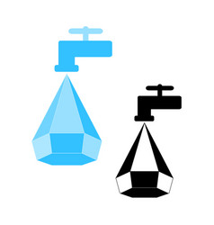 water conservation logo vector image