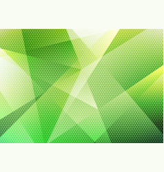 Abstract modern background green low polygon with vector