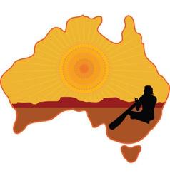 Australia Aboriginal vector