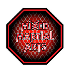 mixed martial arts 0003 vector image