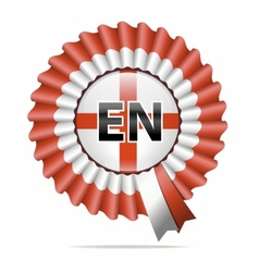 National flag badge EN vector