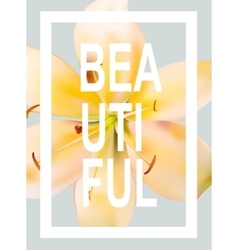Nature T-shirt Graphic with Slogan for Fashion vector image
