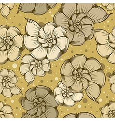 Nautilus pattern vector