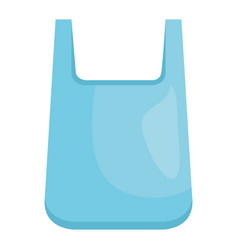 Plastic bag recycle element vector