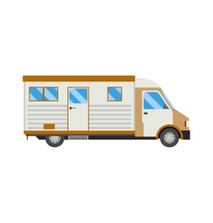 Trailer house vector