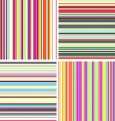 stripe textures vector image