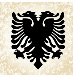 simple eagle icon vector image