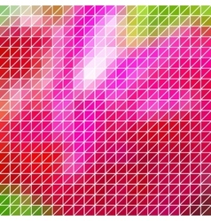 Abstract geometric red pink triangle grid vector