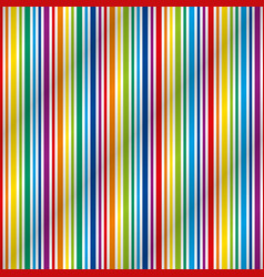 Colorful striped seamless pattern vector