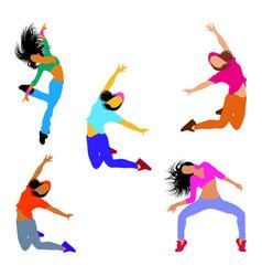 dancer character vector image