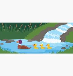 Duck tale vector