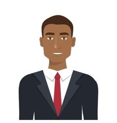 Elegant businessman isolated icon design vector