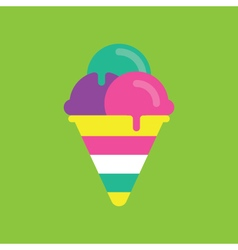 Ice cream Icon Candy Candy Icon vector image
