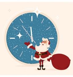 Santa Claus character concept vector