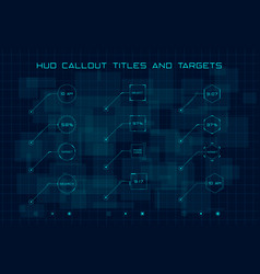 Set blue callout titles and targets in hud vector
