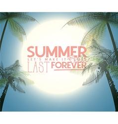 Summer vector