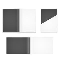 a4 templates vector image