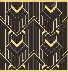Abstract art deco geometric pattern 63 vector