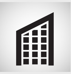 accomodation icon vector image