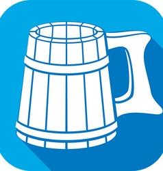 Beer Mug Icon vector