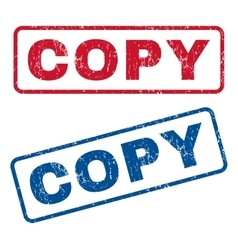 Copy Rubber Stamps vector