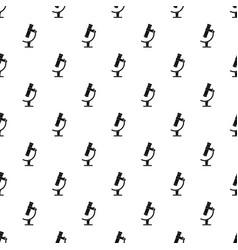 Microscope pattern vector